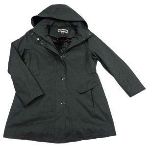 Kristen Blake Balmacaan Rain Coat XL